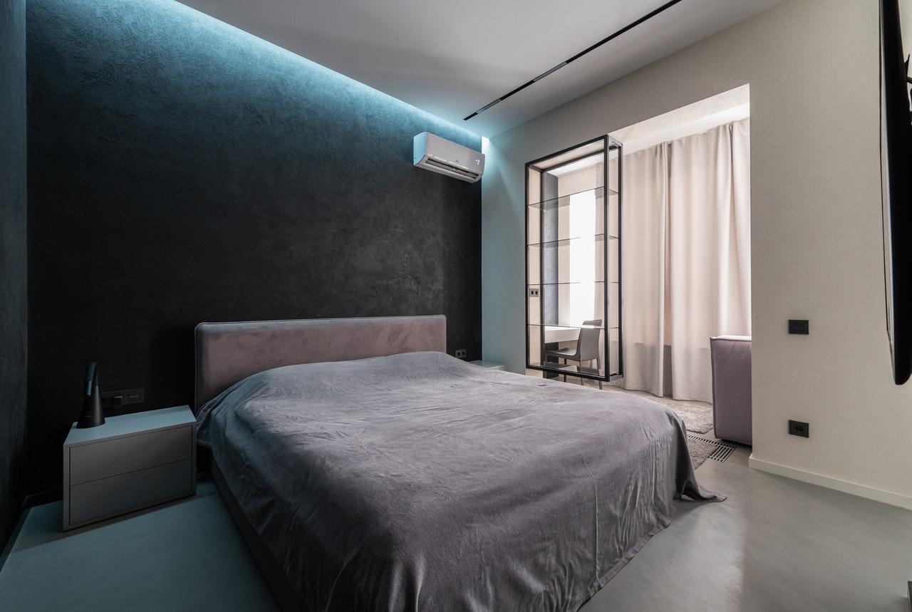 Aire acondicionado en dormitorio Granada