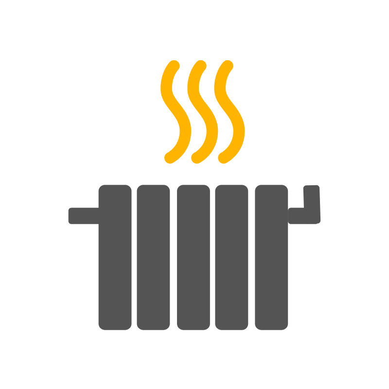 Logo de calefacción
